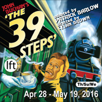 The 39 Steps at Little Fish Theatre