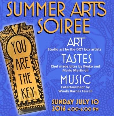 Summer Arts Soiree